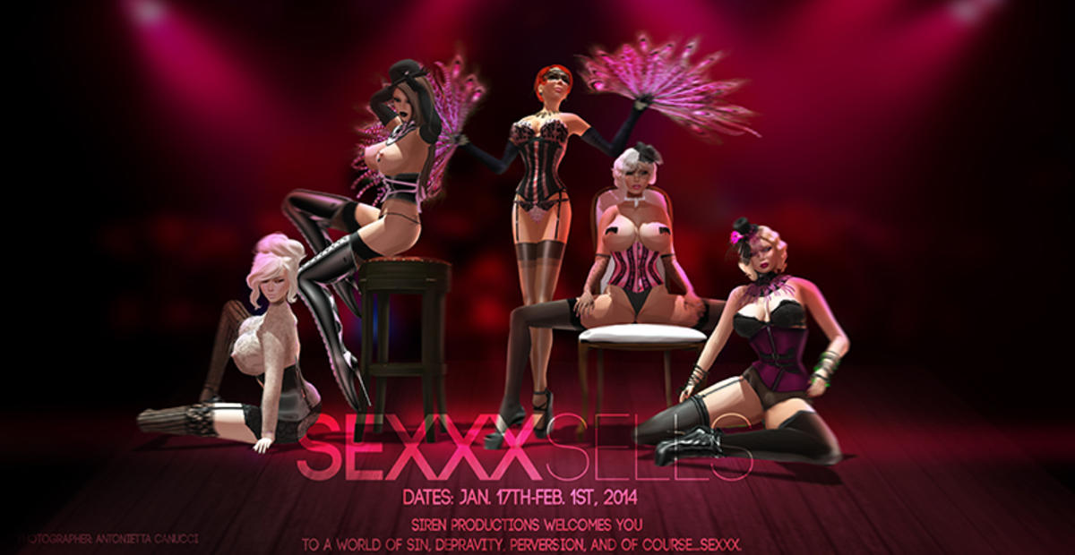 Sexxx Sells promotion poster